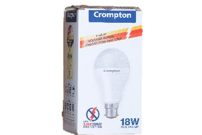 Crompton 18W LED Cool Day Light with voltage surge protection