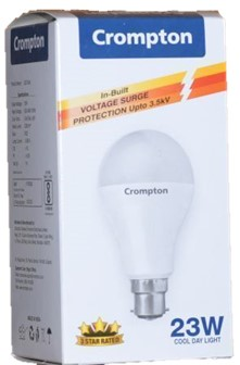 23 W Cool Day Light - with in built voltage surge protection upto 3.kV