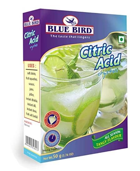 Bluebird Citric Acid 50 g