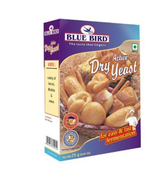 Blue Bird Active Dry Yeast  25 g