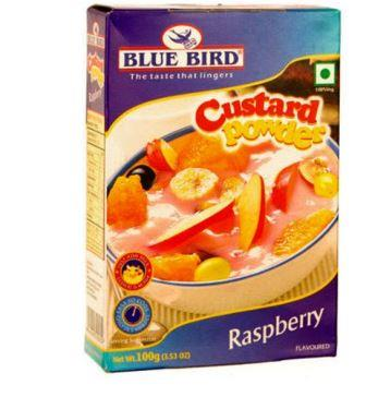 Blue Bird Custard Powder - Raspberry 100 g