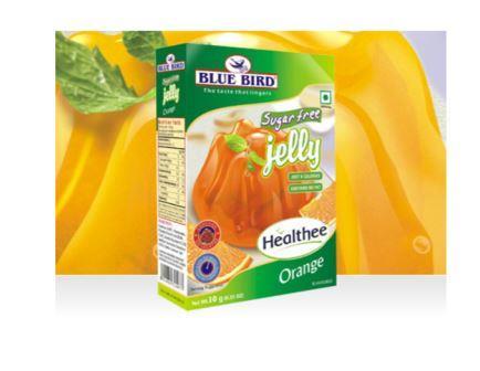 Blue Bird Sugar Free Jelly - Orange