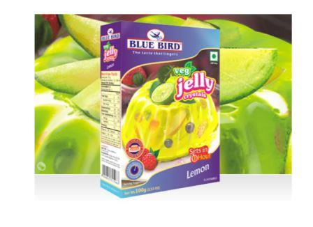 Blue  Bird Veg Jelly  Crystals- Lemon