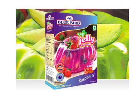 Blue Bird Veg Jelly Crystals - Raspberry