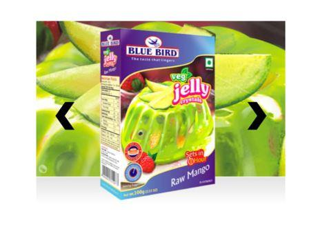 Blue Bird Veg Jelly Crystals - Raw Mango