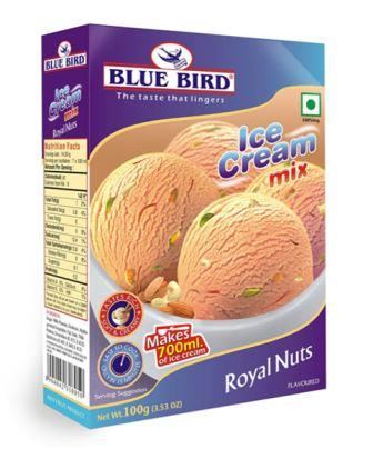 Blue Bird Ice Cream Mix - Royal Nuts 100 g