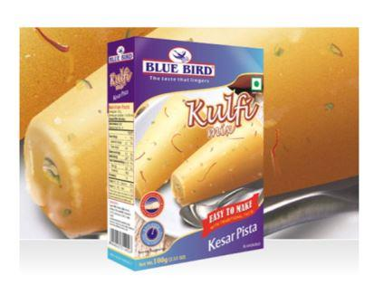 Blue Bird Kulfi Mix - Kesar Pista 100 g