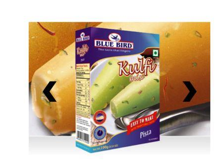 Blue Bird Kulfi Mix - Pista 100 gm