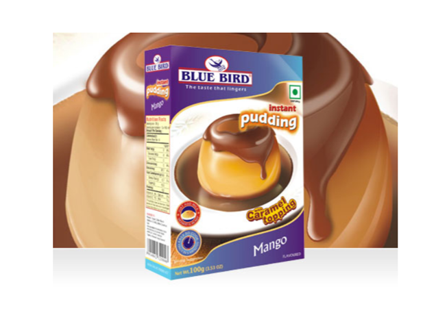 Blue Bird Instant Pudding Mix- Mango 100 g
