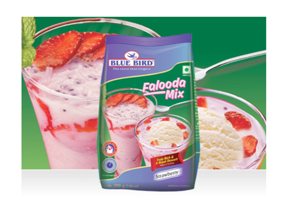 Blue Bird Falooda Mix - Strawberry 200 g