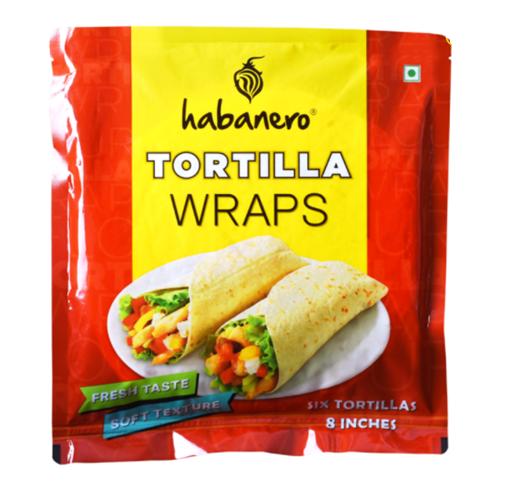Habanero Tortilla Wrap 8 inch