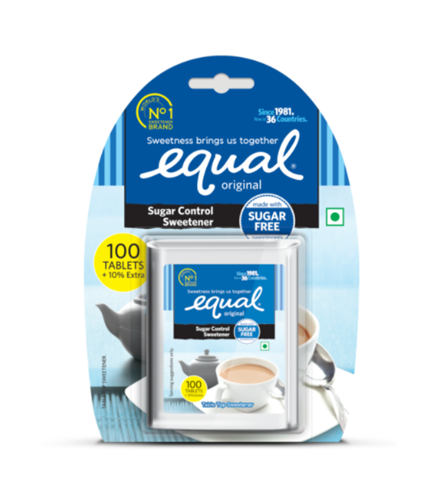 Equal Sugar Control Sweetener - 100 tablets