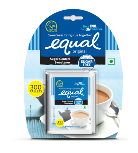 Equal Sugar Control Sweetener - 300 tablets