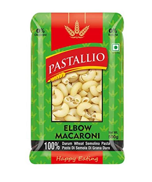 Pastallio Elbow Macaroni (Durum Wheat Semolina Pasta) - 500g