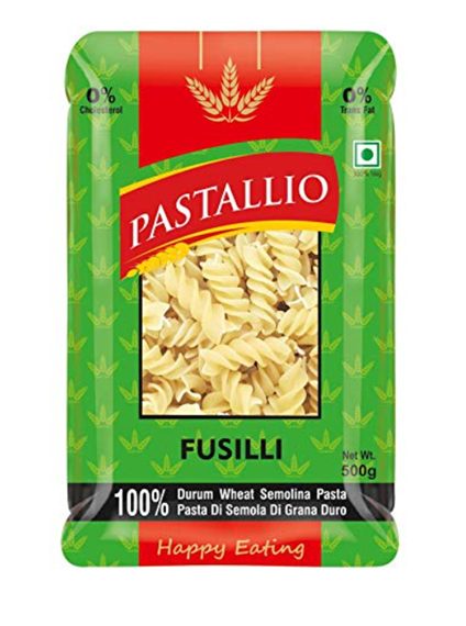 Pastallio Fusilli (Durum Wheat Semolina Pasta) - 500g