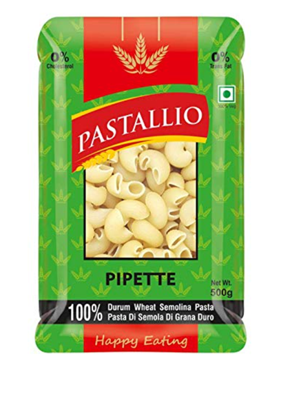 Pastallio Pipette (Durum Wheat Semolina Pasta) - 500g