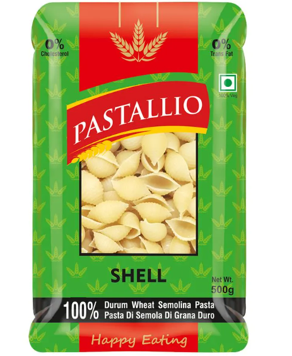 Pastallio Shell (Durum Wheat Semolina Pasta) - 500g