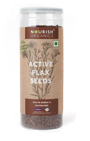 Nourish Active Flax Seeds 180 g
