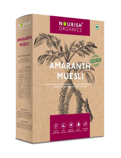 Nourish Organics Amaranth Muesli - 300 g Box