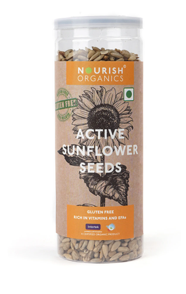 Nourish Organics Active Sunflower Seeds - 150 g