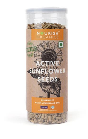 Nourish Organics Active Sunflower Seeds - 150 g