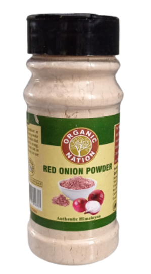 Organic Nation Red Onion Powder 125 g