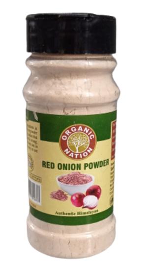 Organic Nation Red Onion Powder 125 g