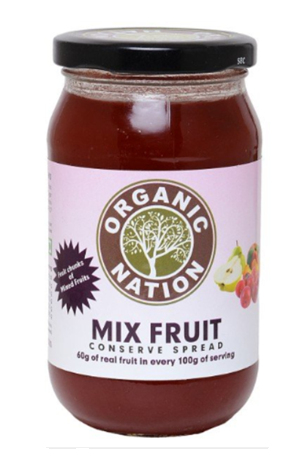 Organic Nation - Mixed Fruit Jam 450 G