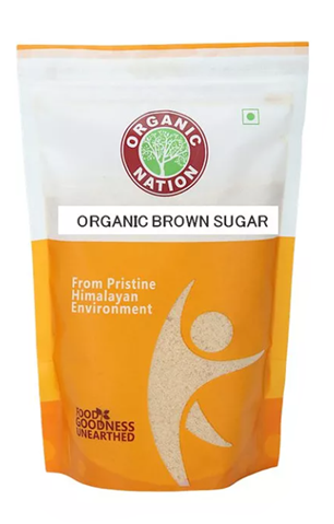 Organic Nation - Organic Brown Sugar 500 g