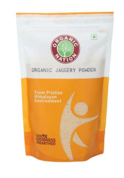 Organic Nation Organic Jaggery  Powder 500 g