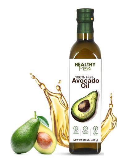 Healthy Muse Avocado Oil - 500 ml