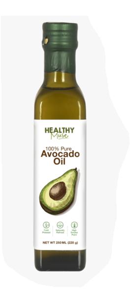 Healthy Muse Avocado Oil - 250 ml