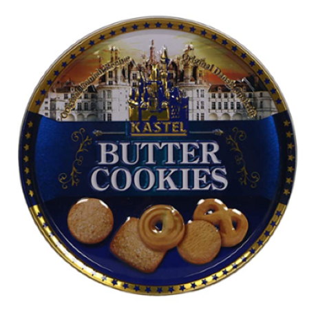 Kastel Butter Cookies 400 g Tin