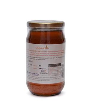 DevBhumi  Honey - Litchi 500 g Bottle