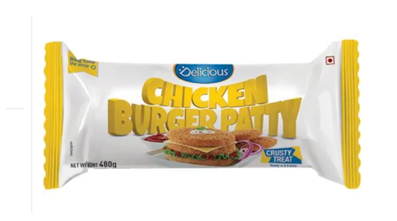 Delicious Chicken Burger Patty 480 g