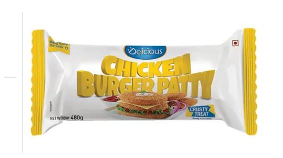 Delicious Chicken Burger Patty 480 g