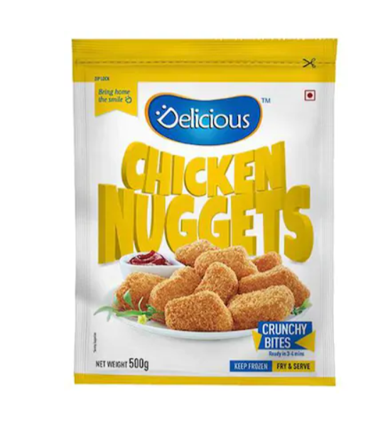Delicious Chicken Nuggets 500 g