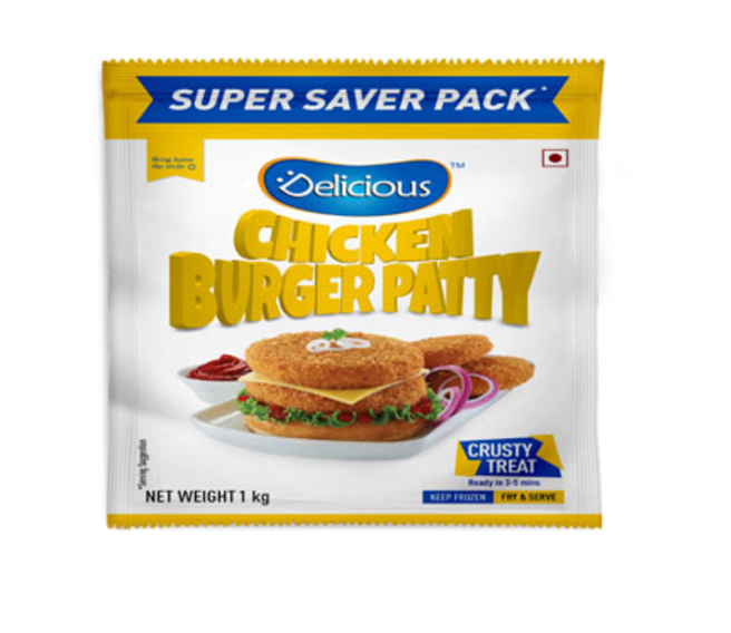 Delicious Chicken Burger Patty 1  Kg
