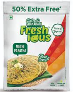 Freshious  Methi Paratha 240 + 120 g