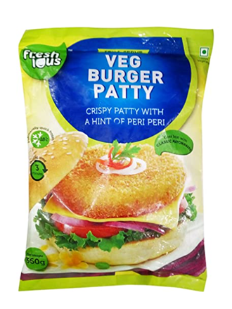 Freshious Veg Burger Patty 360 g