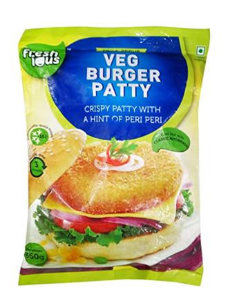 Freshious Veg Burger Patty 360 g
