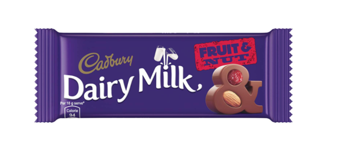 Cadbury  Dairy Milk Fruit  & Nut 36 g