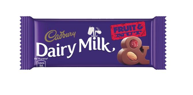 Cadbury  Dairy Milk Fruit  & Nut 36 g