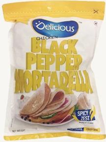 Delicious Chicken Black Pepper Mortadella 250 g