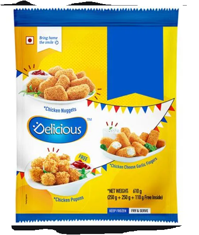 Delicious Chicken Party Pack 610 g