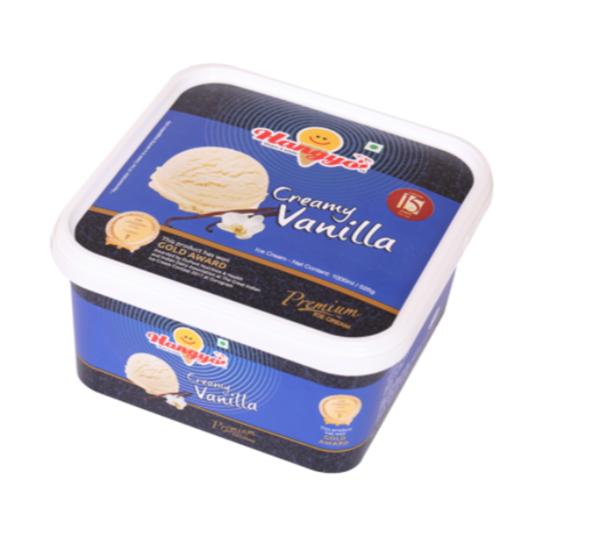Hangyo Creamy Vanilla  Ice Cream 1000 ml Tub