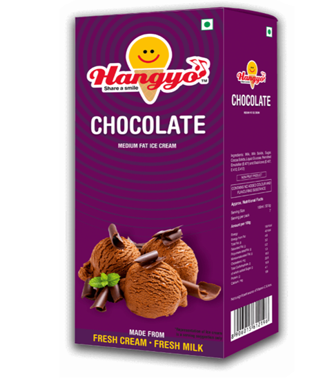 Hangyo Chocolate Ice Cream Box - Family Pack