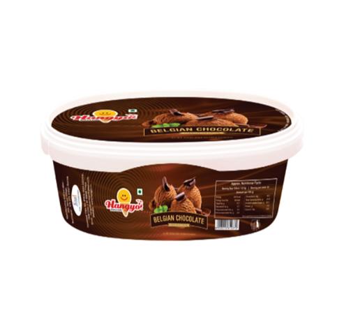 Hangyo Belgian Chocolate Ice Cream Tub 1 Litre