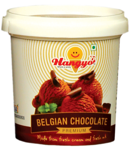 Hangyo Belgian Chocolate Ice Cream 125 ml tub