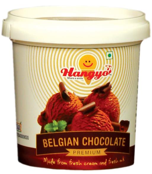 Hangyo Belgian Chocolate Ice Cream 125 ml tub